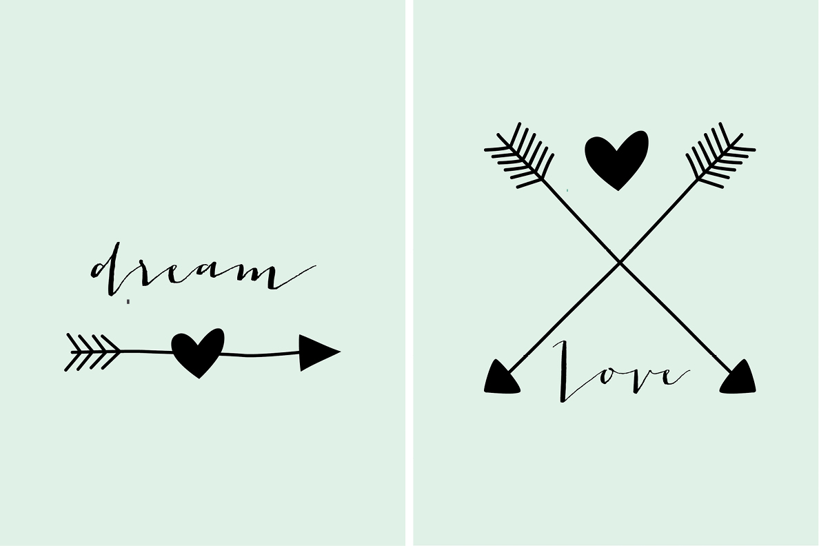 Extrem Love Posters DIY OH66