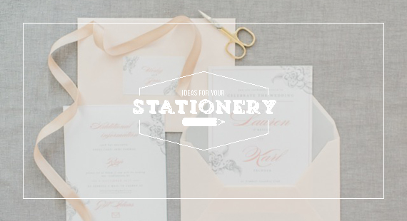 Chrystalace Wedding Stationery Lauren & Karl Pink Grey Classic Stationery Cover