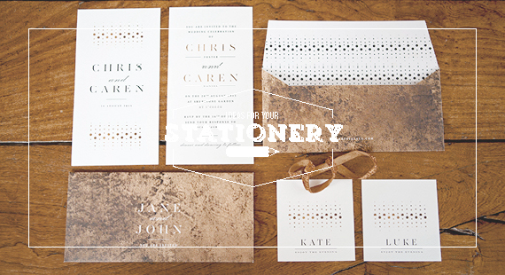 Chrystalace Gold Copper Stationery Cover