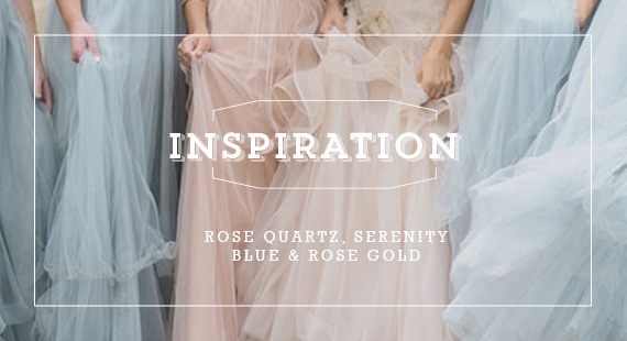 Rose Quartz, Serenity Blue & Rose Gold