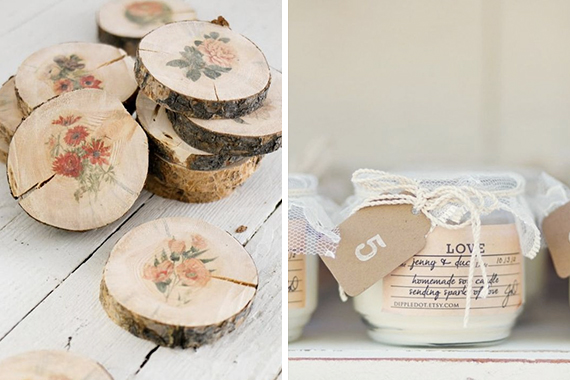"""<a href=""""http://www.ellaclaireinspired.com/how-to-make-botanical-wood-slices/"""" target=""""_blank"""">Wooden Coasters</a>   <a href=""""https://za.pinterest.com/pin/505388389408275981/"""" target=""""_blank"""">Candle</a>"""